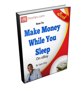 How To Make Money While You Sleep On eBay