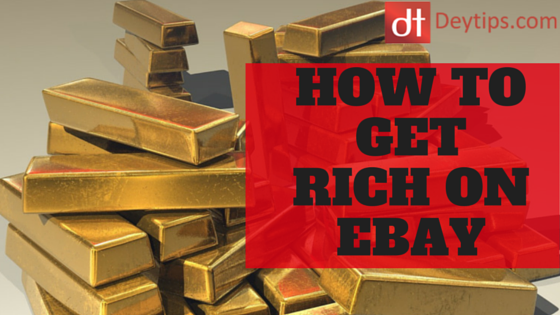 How to get rich on eBay by thinking the righ thoughts