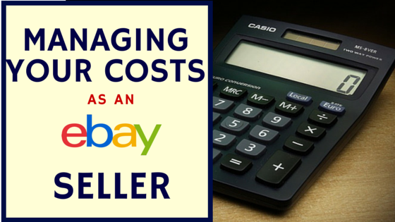 Common costs associate with selling on eBay