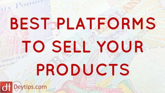 Deytips online selling websites for Best selling websites online