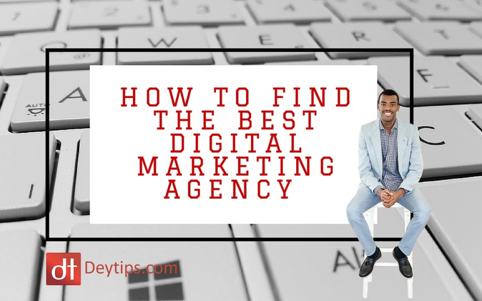 digital marketing agency search tips