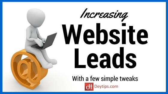 How to increase leads from your website