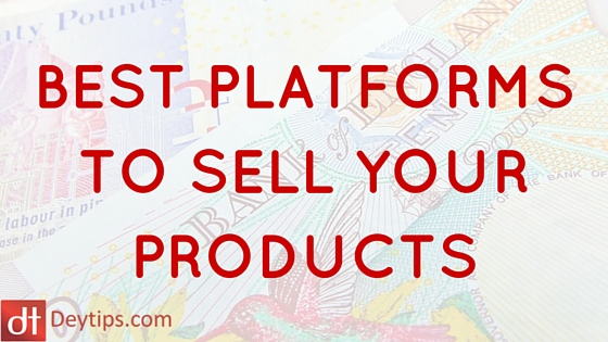 best platforms to sell online